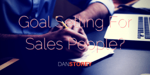 Why Goal Setting Is Important In Sales Organisations?