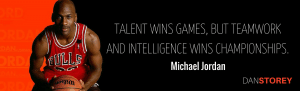 Michael Jordan quote on Importance of Teamwork